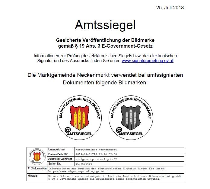 Amtssiegel